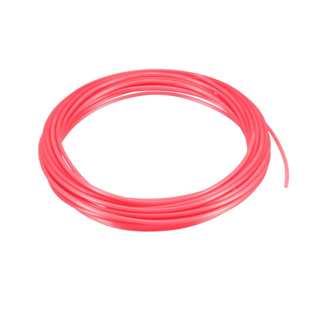 5 Meter/16 Ft PLA 3D Pen/3D Printer Filament, 1.75 mm Luminous Red