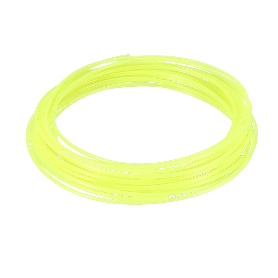 5 Meter/16 Ft PLA 3D Pen/3D Printer Filament, 1.75 mm Luminous Yellow