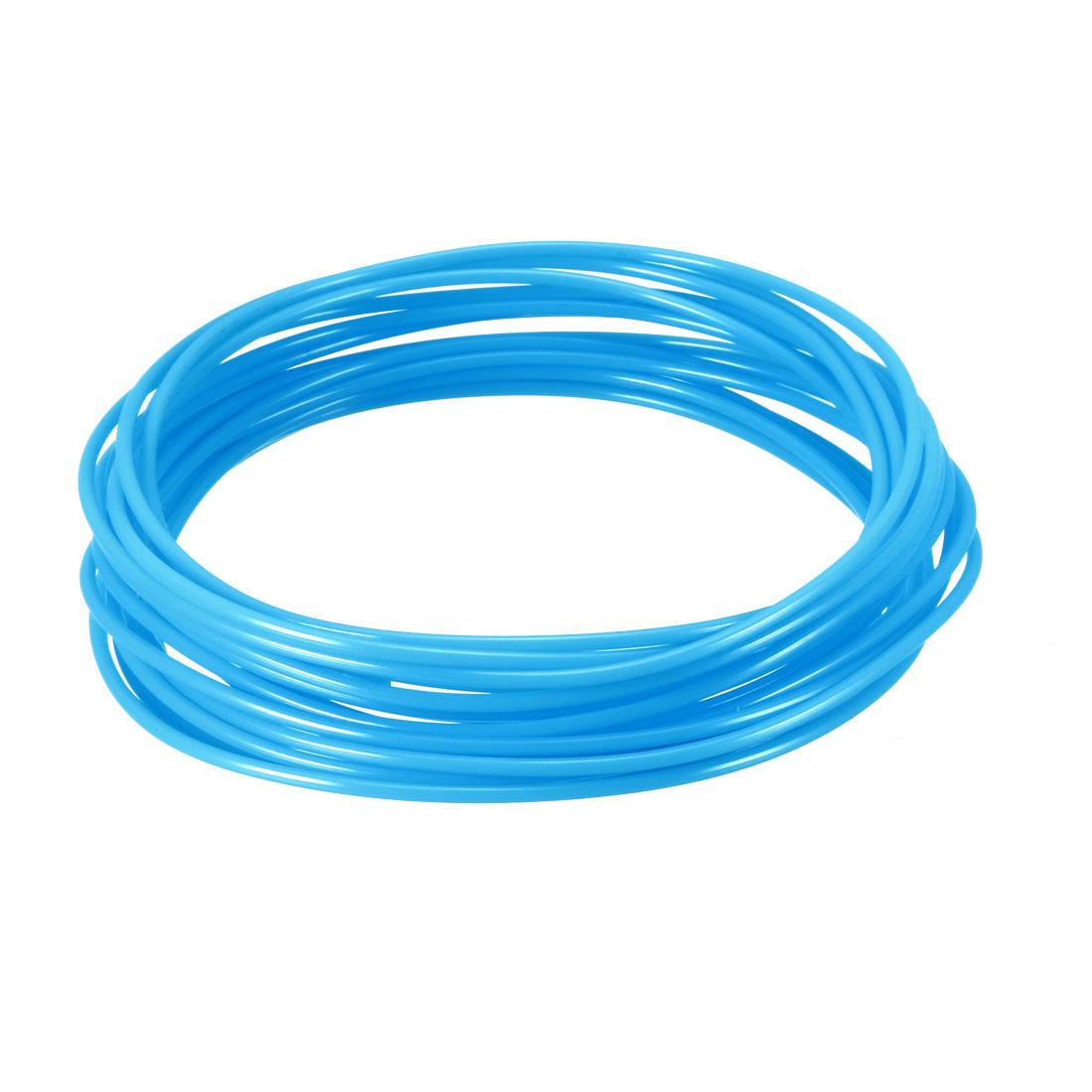 5 Meter/16 Ft PLA 3D Pen/3D Printer Filament, 1.75 mm Luminous Blue