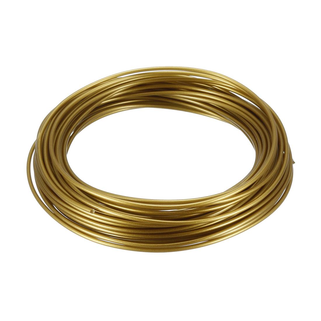 10 Meter/32.5 Ft PLA 3D Pen/3D Printer Filament, 1.75 mm Navy Golden