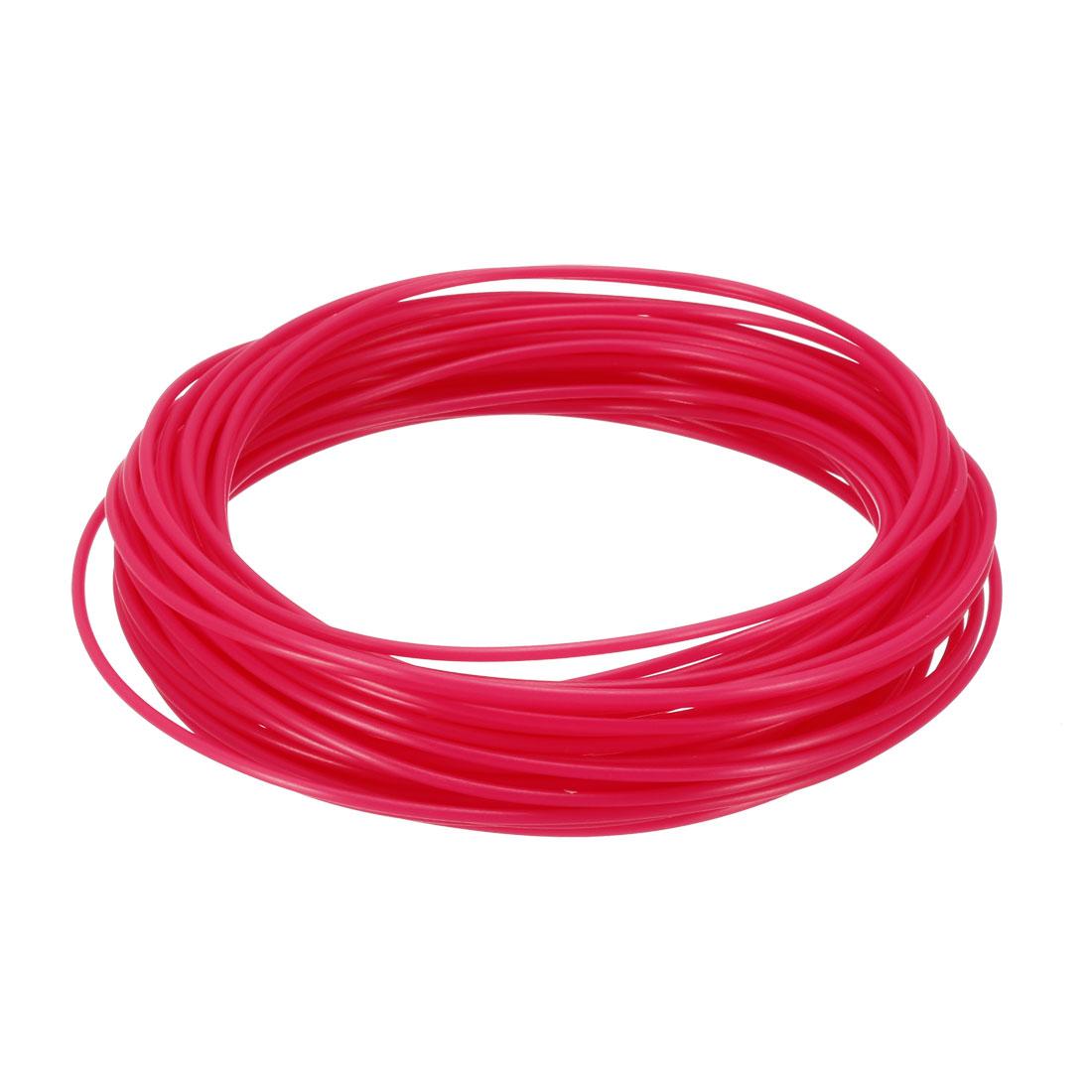 10 Meter/32.5 Ft PLA 3D Pen/3D Printer Filament, 1.75 mm Fluorescent Red