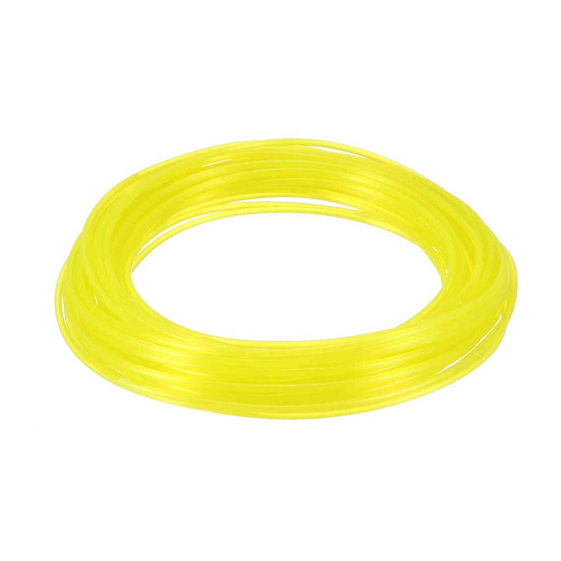 10 Meter/32.5 Ft PLA 3D Pen/3D Printer Filament, 1.75 mm Fluorescent Yellow