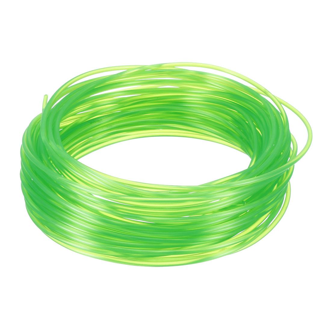 10 Meter/32.5 Ft PLA 3D Pen/3D Printer Filament, 1.75 mm Transparent Green