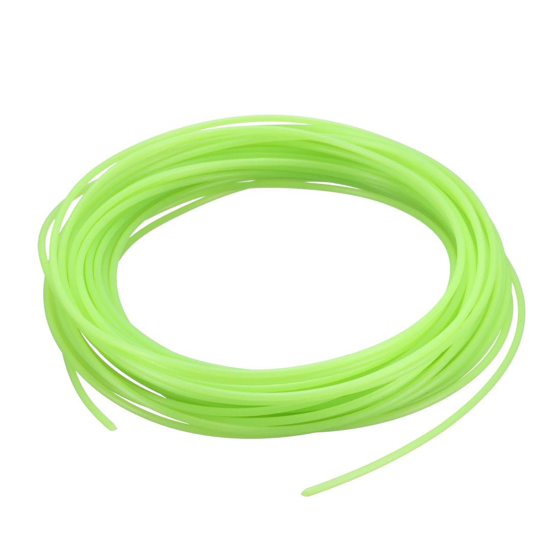10 Meter/32.5 Ft PLA 3D Pen/3D Printer Filament, 1.75 mm Luminous Green