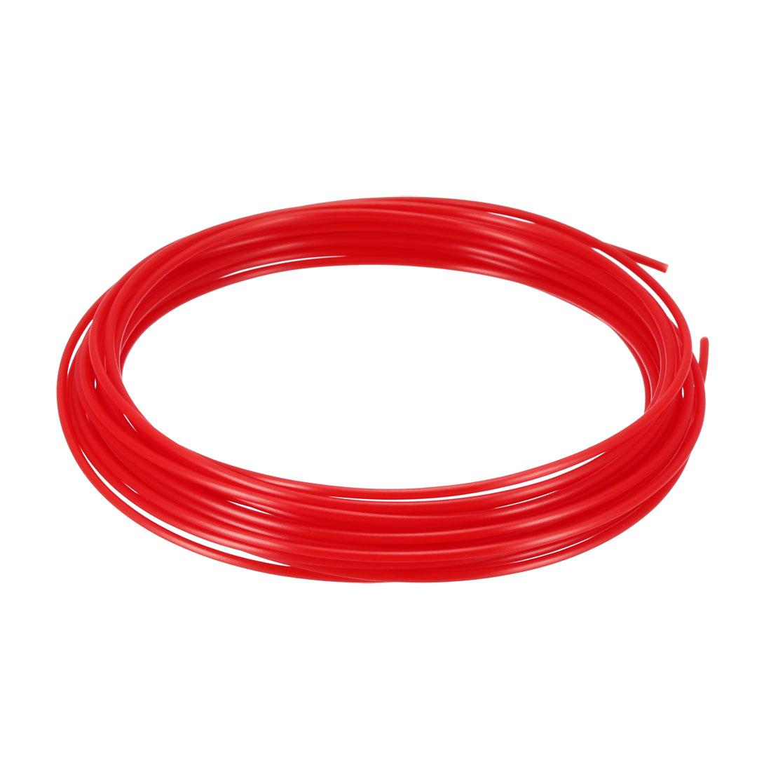 5 Meter/16 Ft ABS 3D Pen/3D Printer Filament, 1.75 mm Red