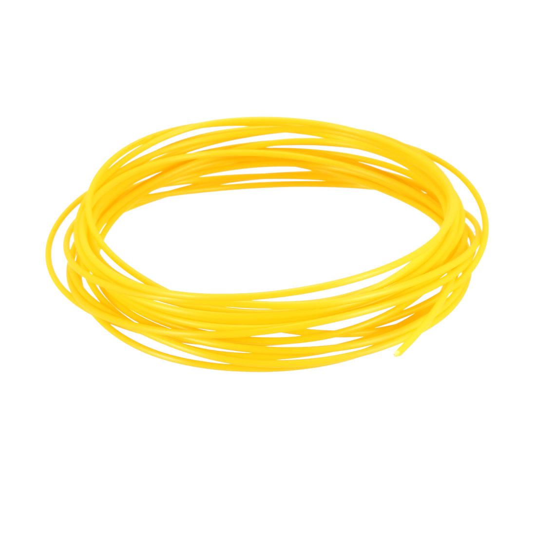 5 Meter/16 Ft ABS 3D Pen/3D Printer Filament, 1.75 mm Yellow