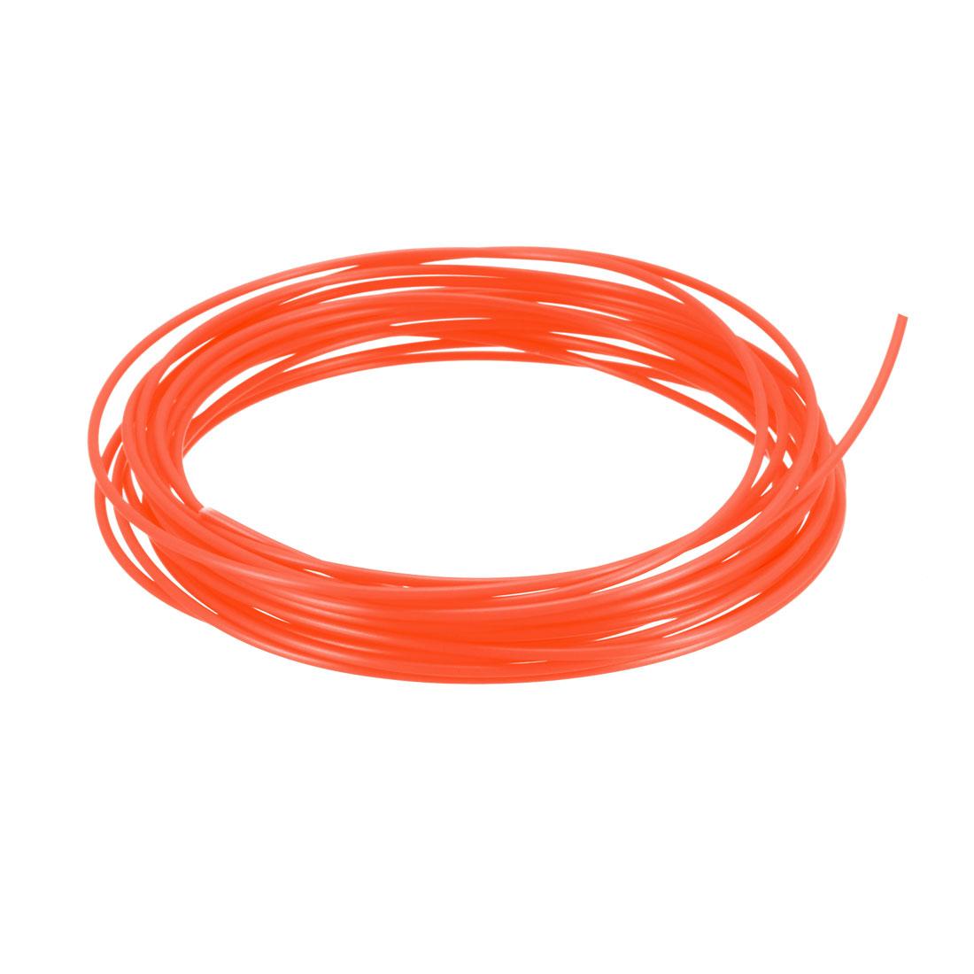 5 Meter/16 Ft ABS 3D Pen/3D Printer Filament, 1.75 mm Fluorescent Red