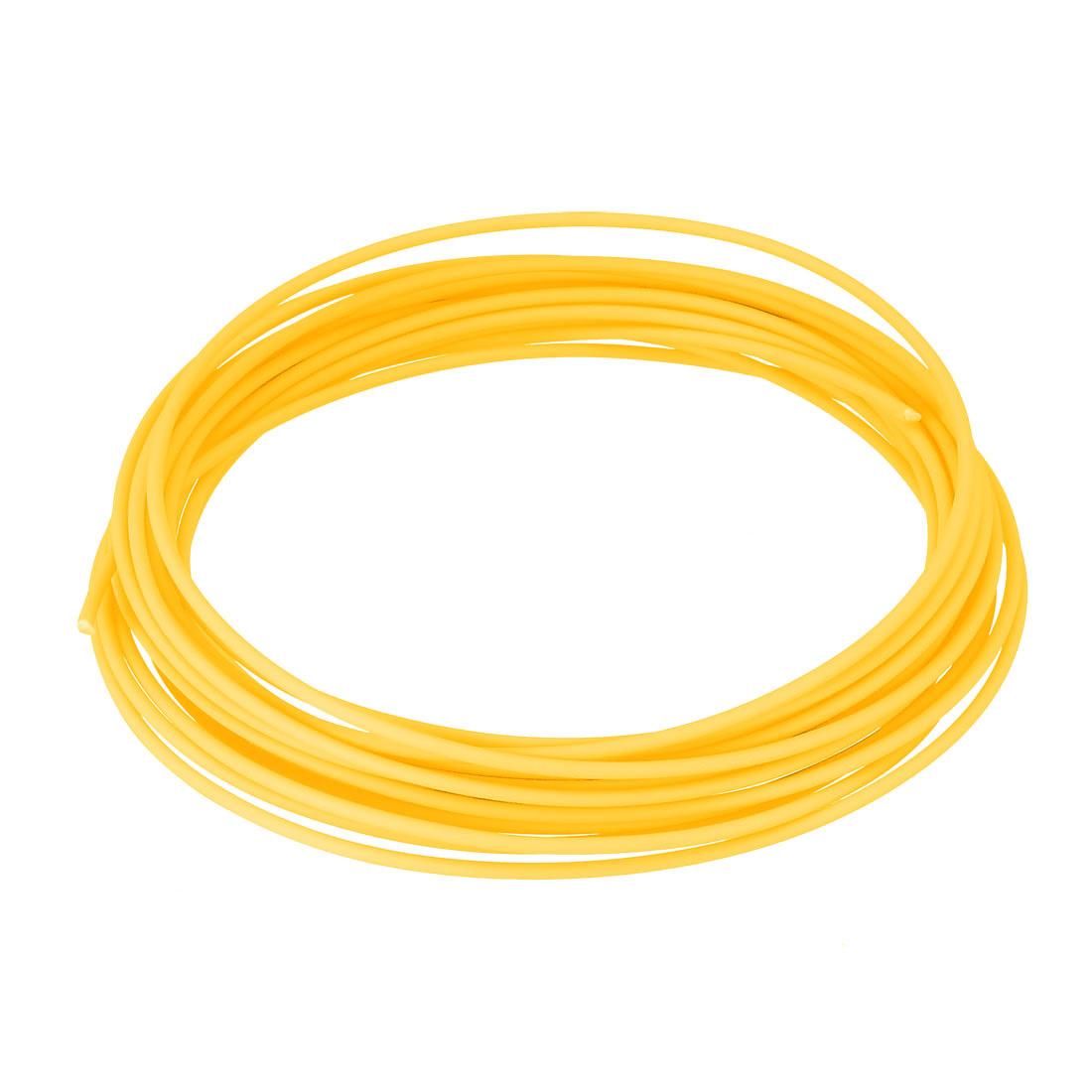 5 Meter/16 Ft PCL 3D Pen/3D Printer Filament, 1.75 mm Yellow