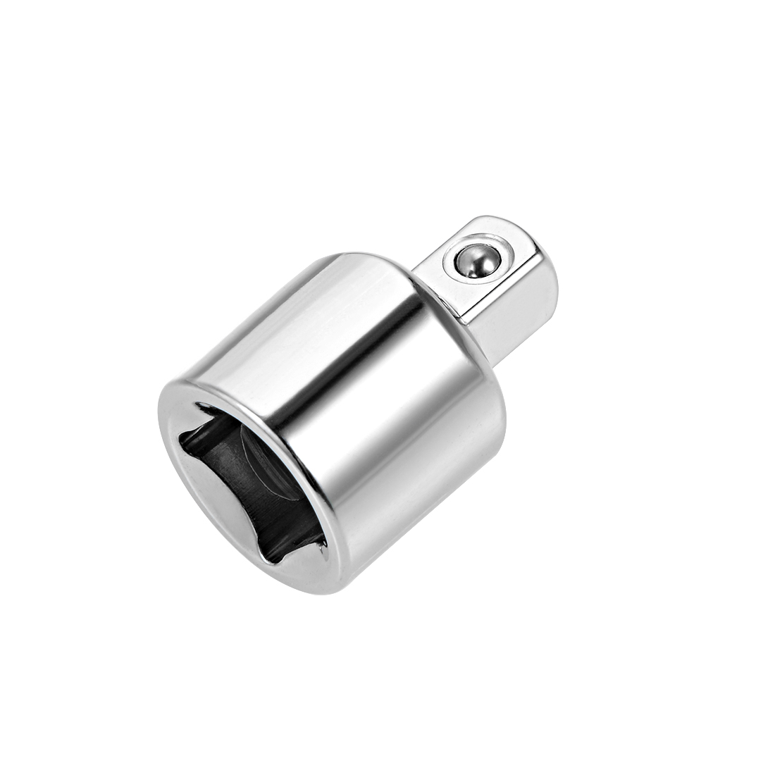 Socket Adapter 3/8-Inch F to 1/4-Inch M for Ratchet Wrenches Cr-V Steel