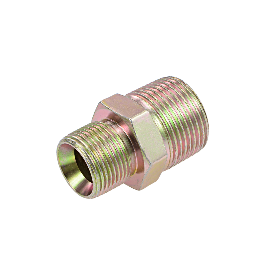 Reducing Pipe Fitting - Reducer Hex Nipple - 1 X 3/4 BSP Male Connector