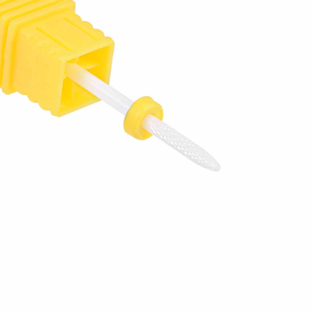 Ceramic Nail Drill Bits 3/32 inch (Extra Fine Grit) for Manicure Pedicure