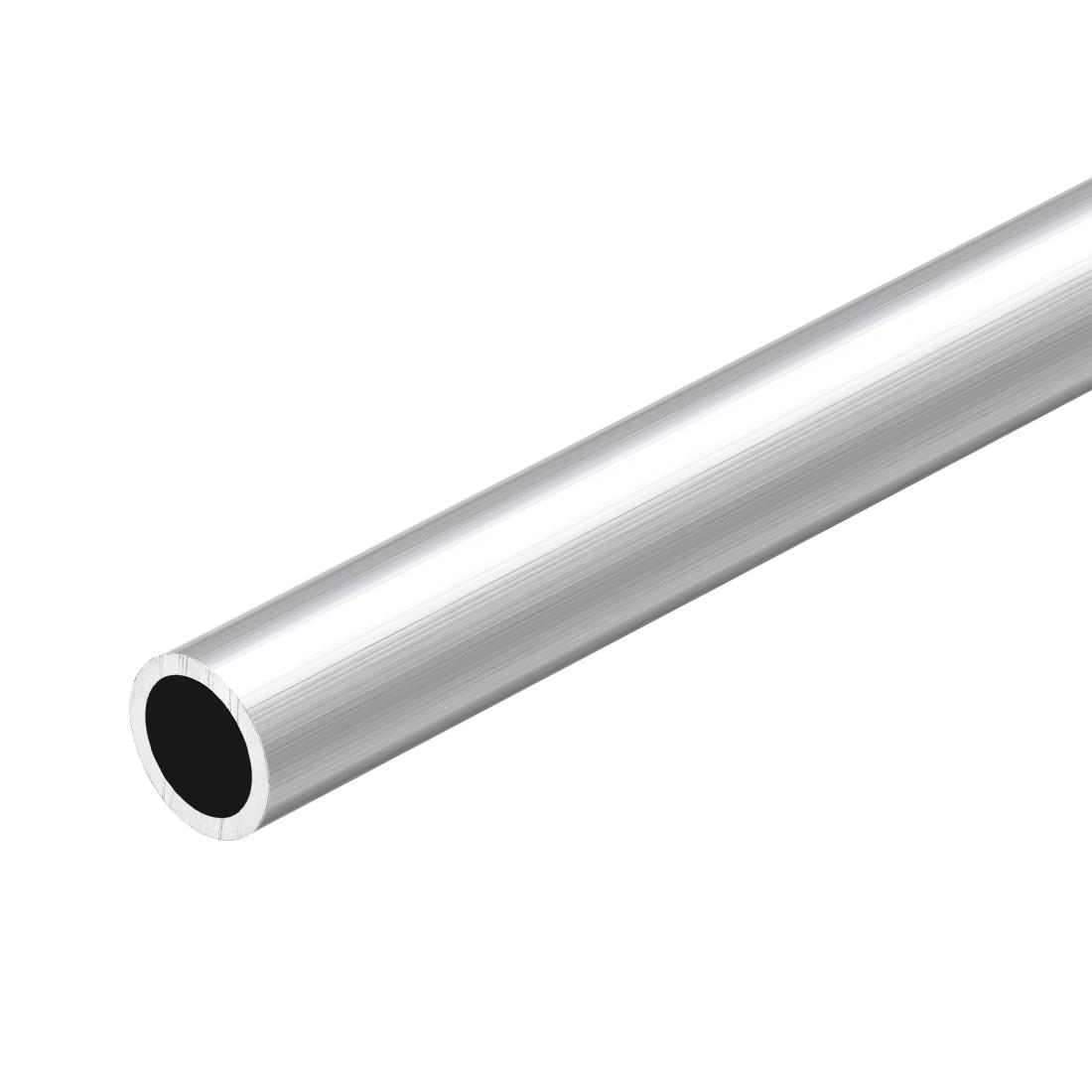 6063 Aluminum Round Tube 300mm Length 13mm OD 10mm Inner Dia Seamless Tubing