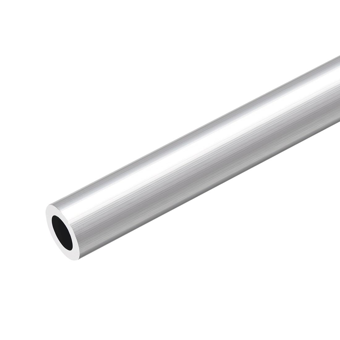 6063 Aluminum Round Tube 300mm Length 16mm OD 10mm Inner Dia Seamless Tubing