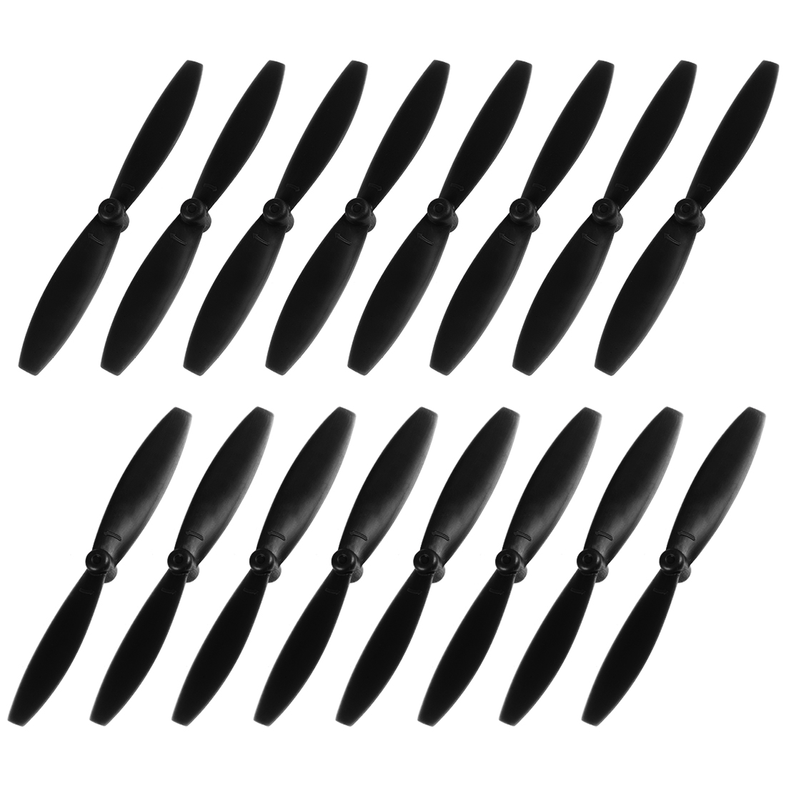 RC Propellers 65mm CW CCW 2-Vane for 720 8520 Coreless Motor FPV Black 8 Pairs