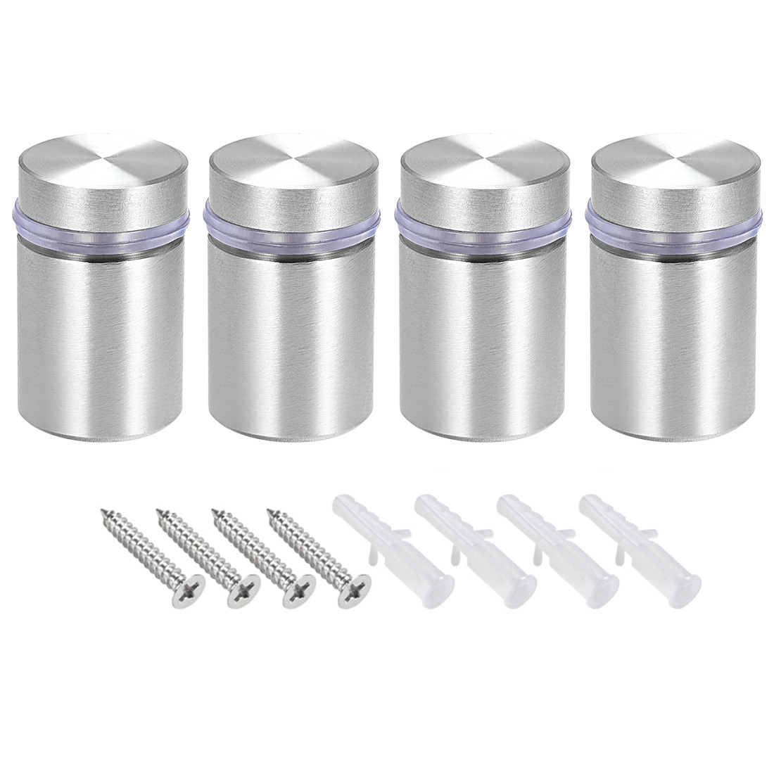 Glass Standoff Mount Solid Stainless Steel Wall Standoff Holder 18mmx28mm 4 Pcs