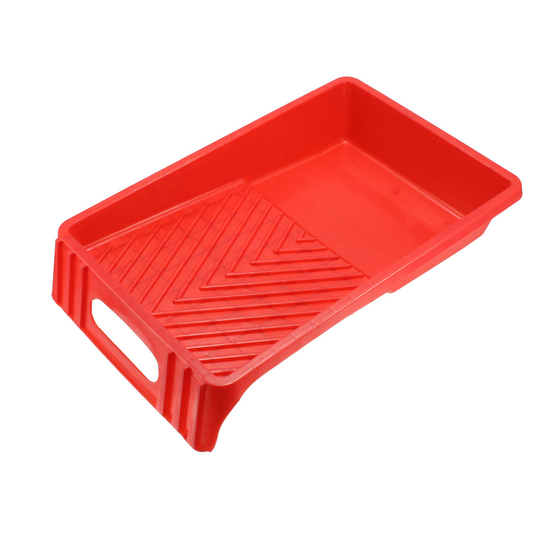 Paint Roller Tray for 7 Inch Plastic Liner for Painting Brush Red