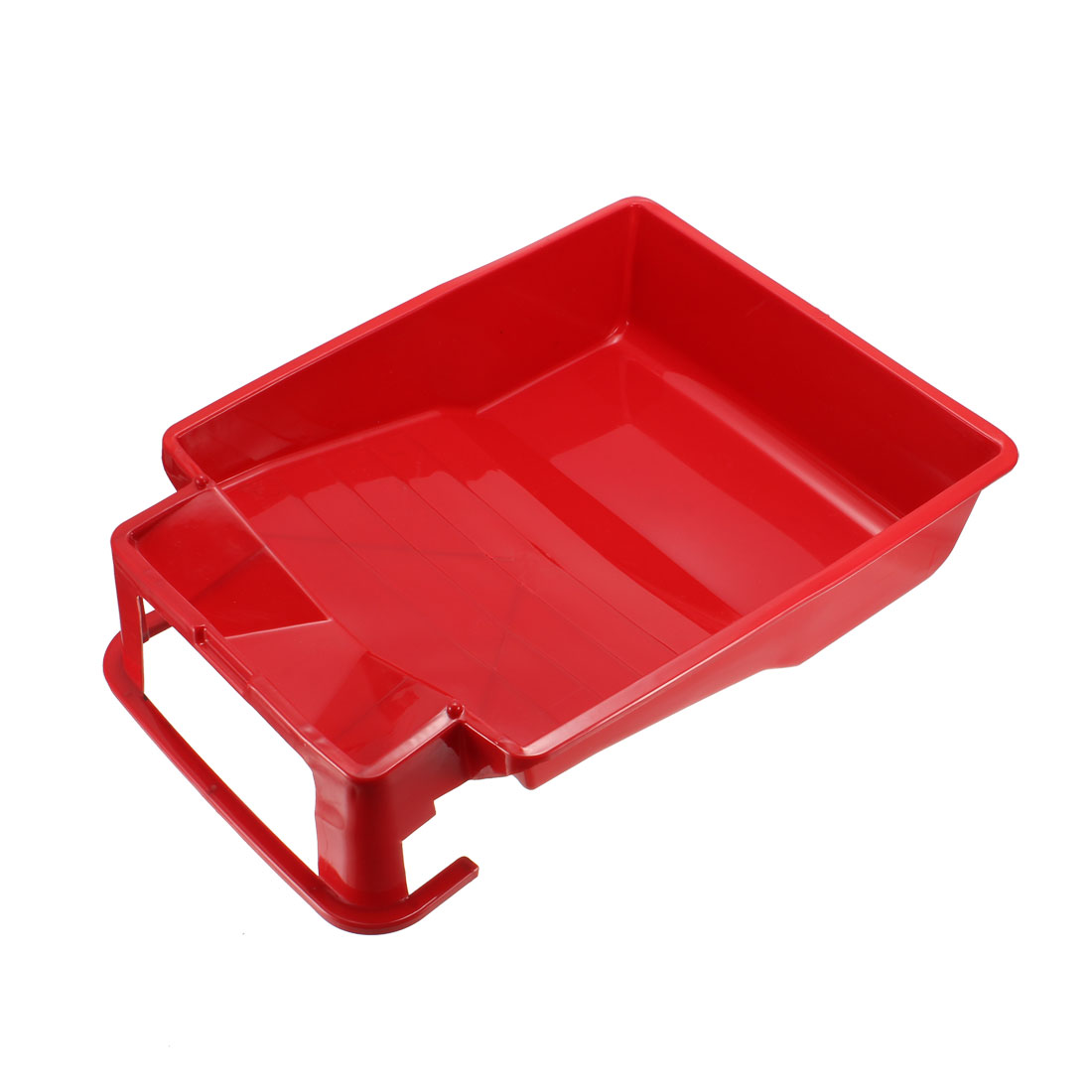 Paint Roller Tray for 9 Inch Plastic Liner for Painting Brush Red