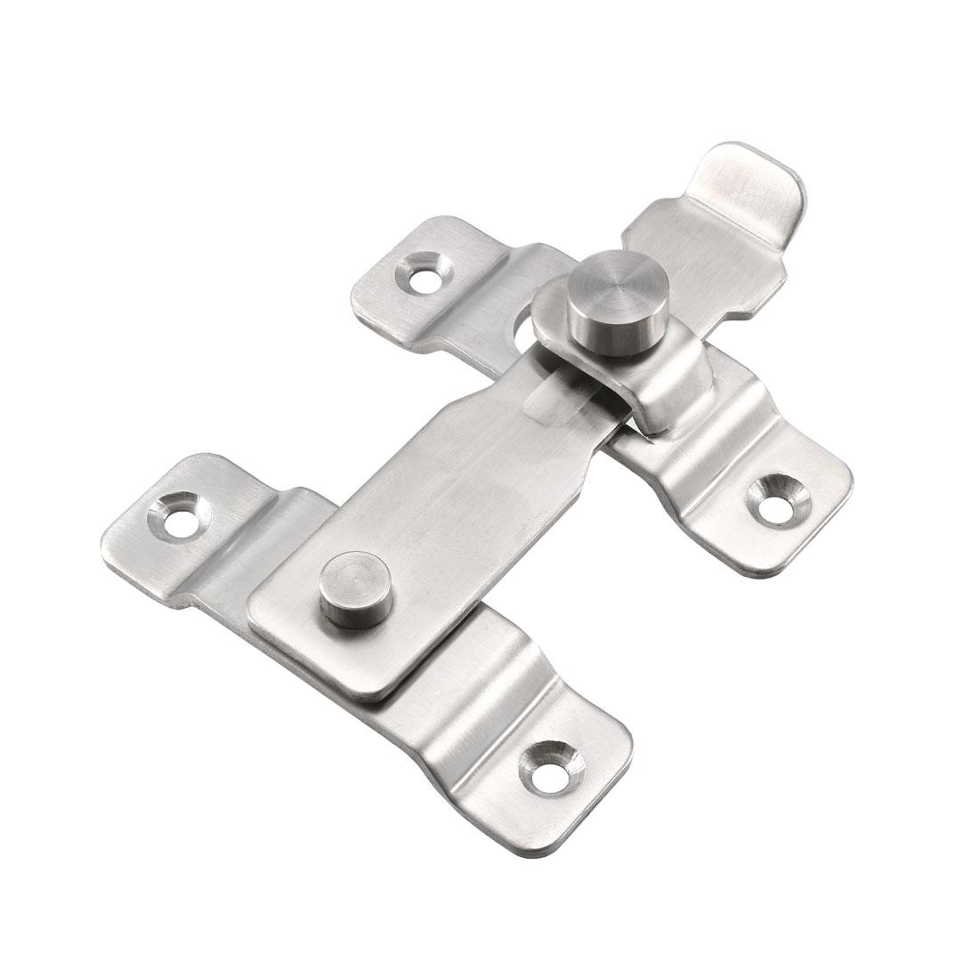 Flip Door Latch 201 Stainless Steel 110x85mm Gate Latch Bar Latch Sliding Lock