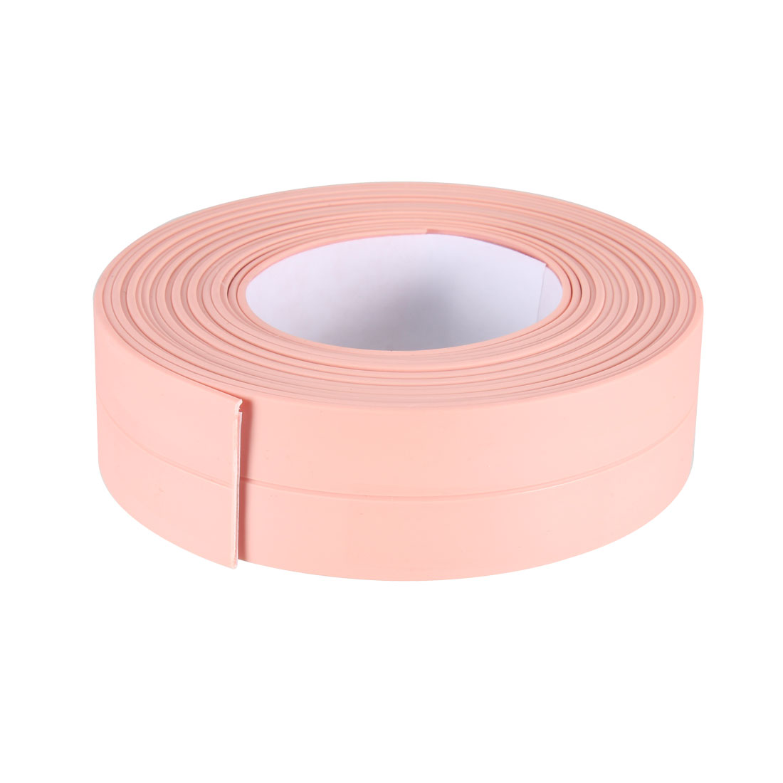 Caulk Strip Flexible Self Adhesive Tape for Wall Sealing 10.5ftx22mm (Pink)