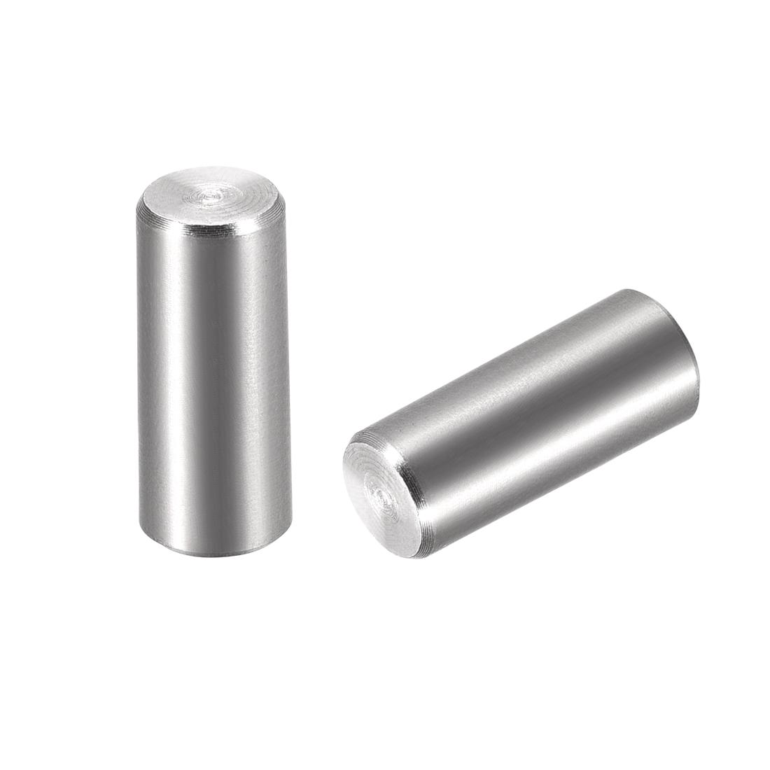 2Pcs 8mm x 20mm 1:50 Taper Pin 304 Stainless Steel Shelf Support Pin Fasten