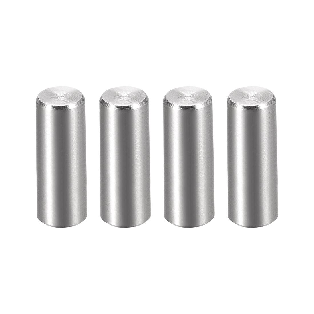 4Pcs 8mm x 25mm 1:50 Taper Pin 304 Stainless Steel Shelf Support Pin Fasten