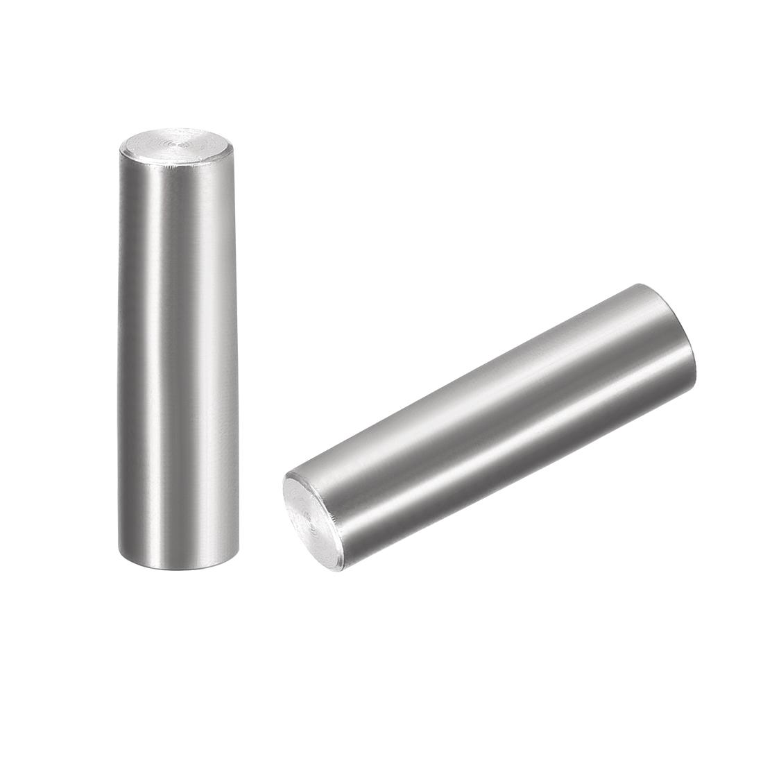 2Pcs 8mm x 30mm 1:50 Taper Pin 304 Stainless Steel Shelf Support Pin Fasten