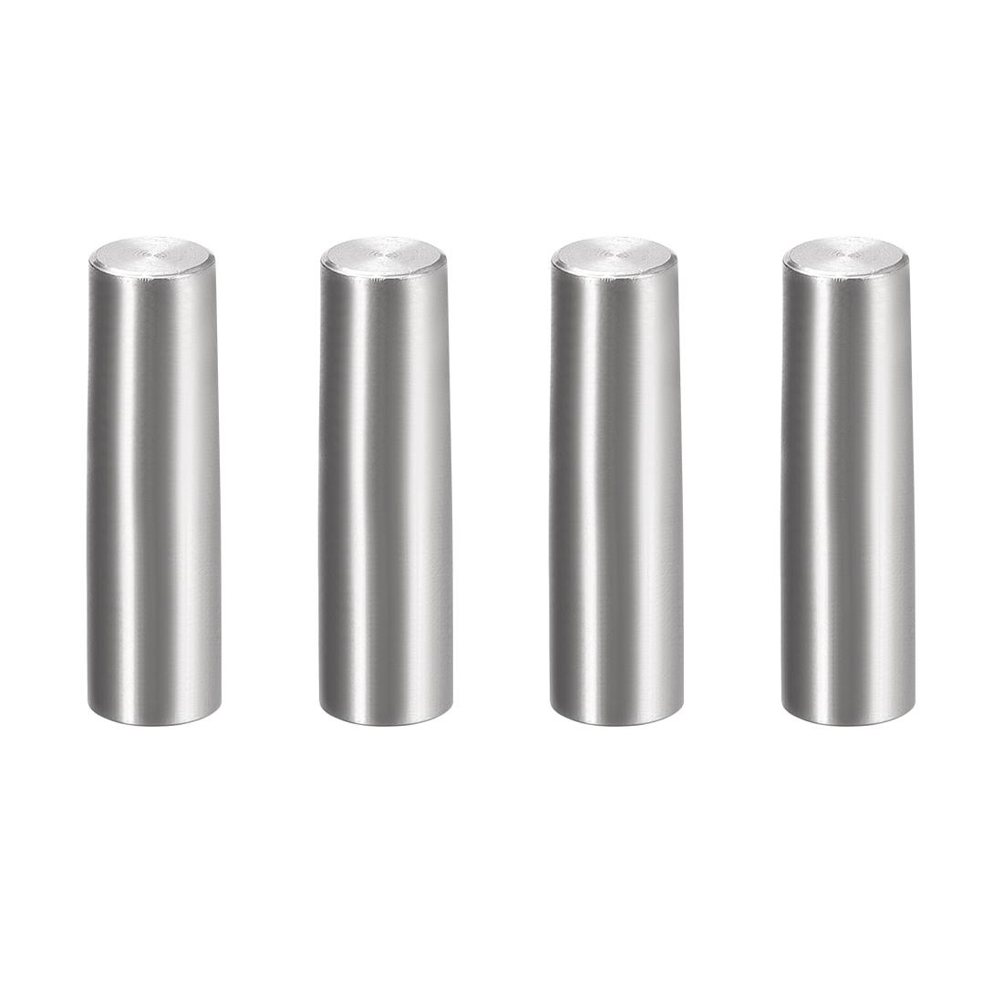 4Pcs 8mm x 30mm 1:50 Taper Pin 304 Stainless Steel Shelf Support Pin Fasten