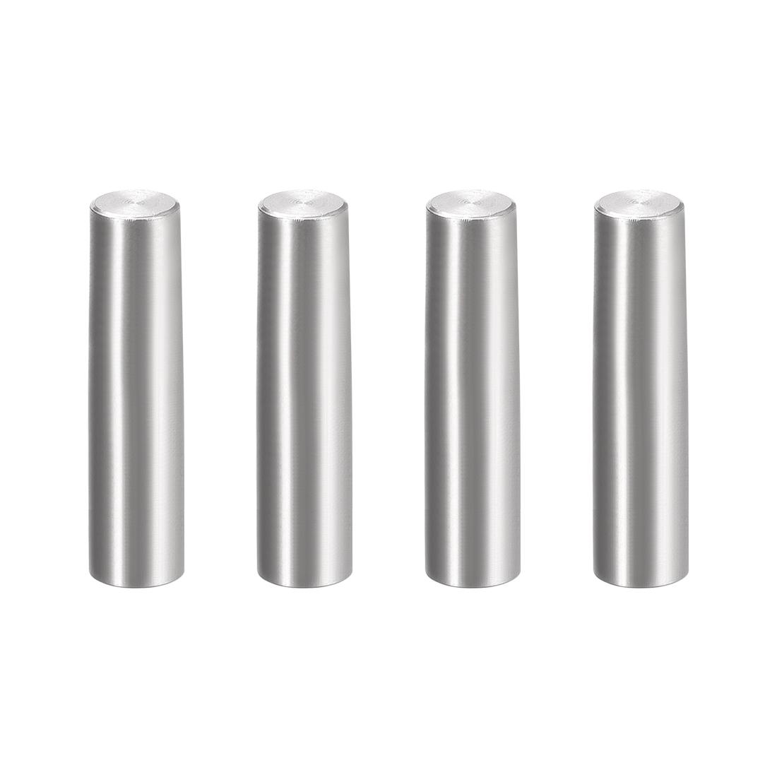 4Pcs 8mm x 35mm 1:50 Taper Pin 304 Stainless Steel Shelf Support Pin Fasten