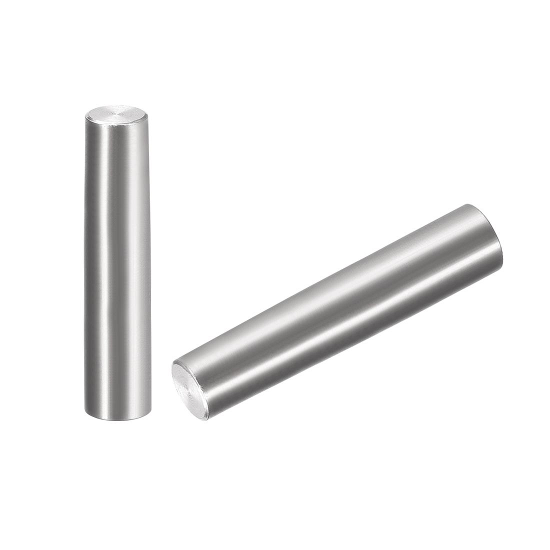 2Pcs 8mm x 40mm 1:50 Taper Pin 304 Stainless Steel Shelf Support Pin Fasten