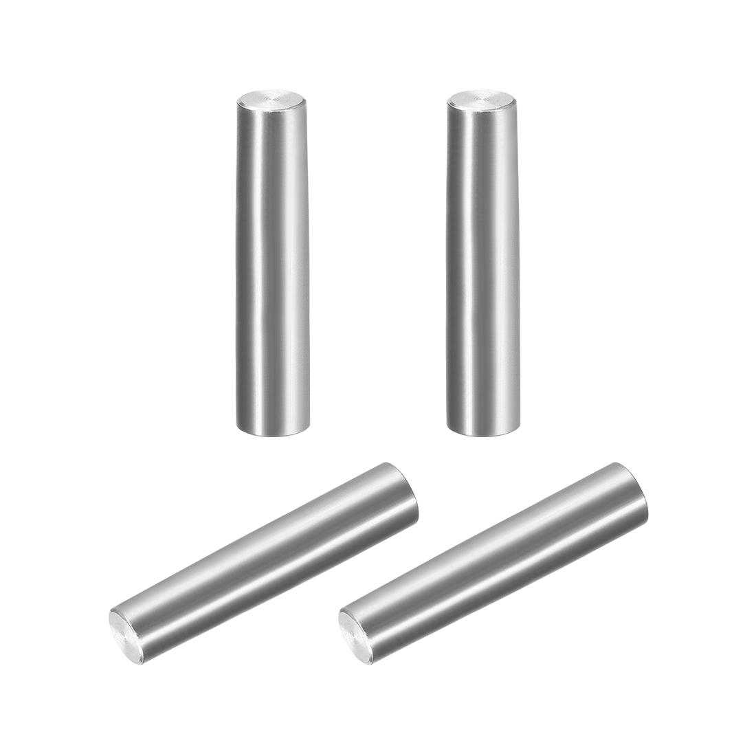 4Pcs 8mm x 40mm 1:50 Taper Pin 304 Stainless Steel Shelf Support Pin Fasten