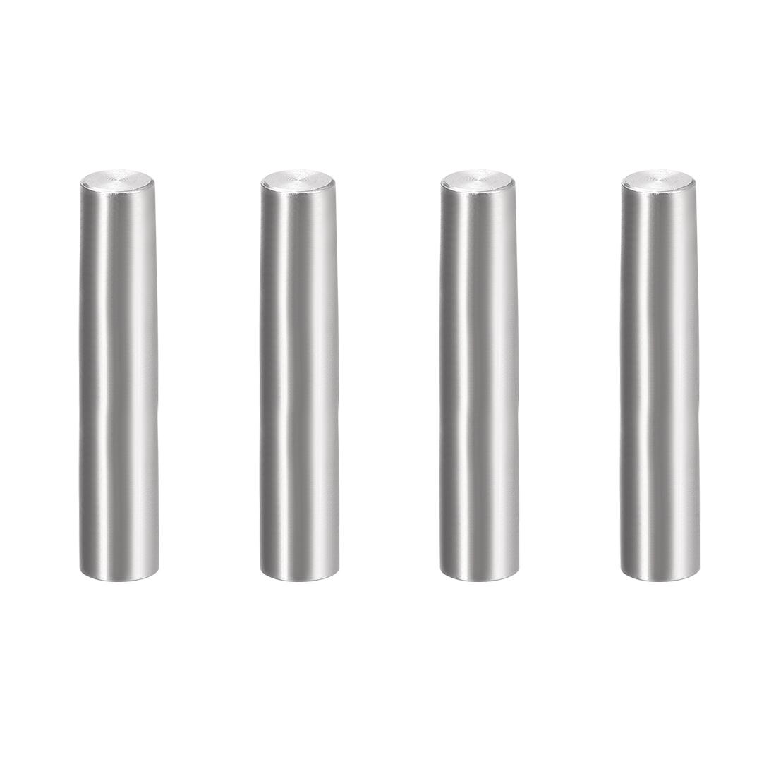 4Pcs 8mm x 45mm 1:50 Taper Pin 304 Stainless Steel Shelf Support Pin Fasten