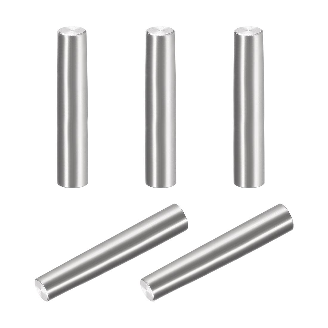 4Pcs 8mm x 50mm 1:50 Taper Pin 304 Stainless Steel Shelf Support Pin Fasten