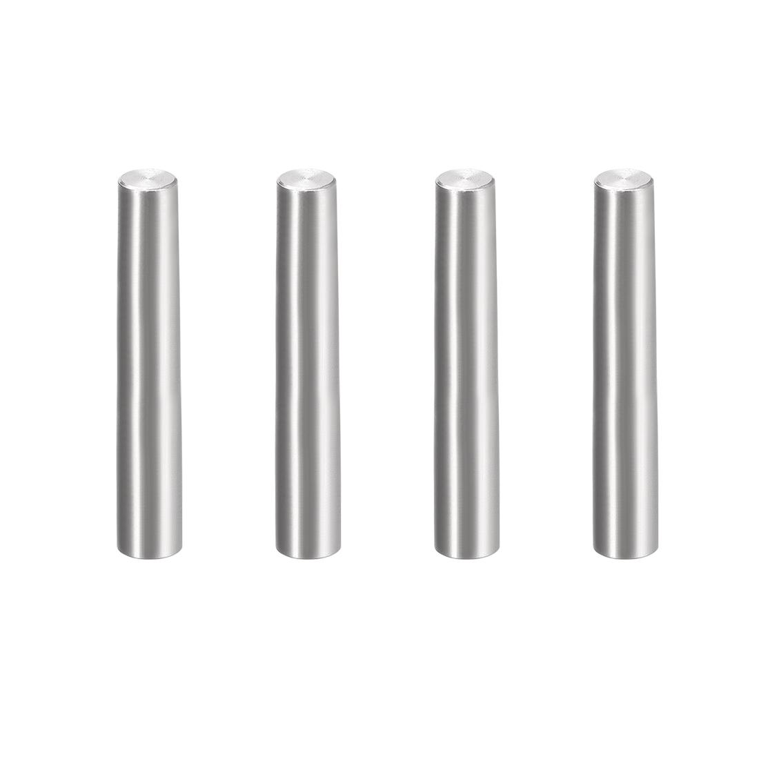 4Pcs 8mm x 60mm 1:50 Taper Pin 304 Stainless Steel Shelf Support Pin Fasten