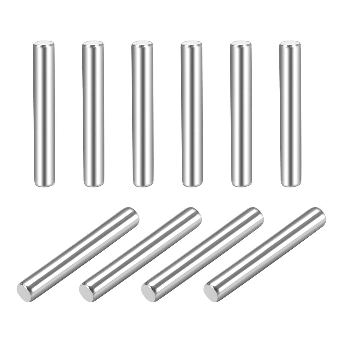 10Pcs 1.5mm x 10mm Dowel Pin 304 Stainless Steel Shelf Support Pin Fasten