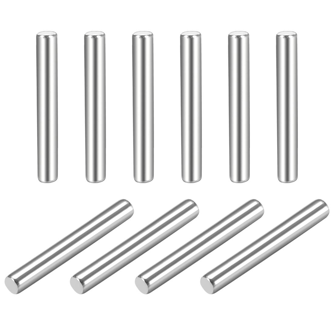 10Pcs 1.5mm x 12mm Dowel Pin 304 Stainless Steel Shelf Support Pin Fasten