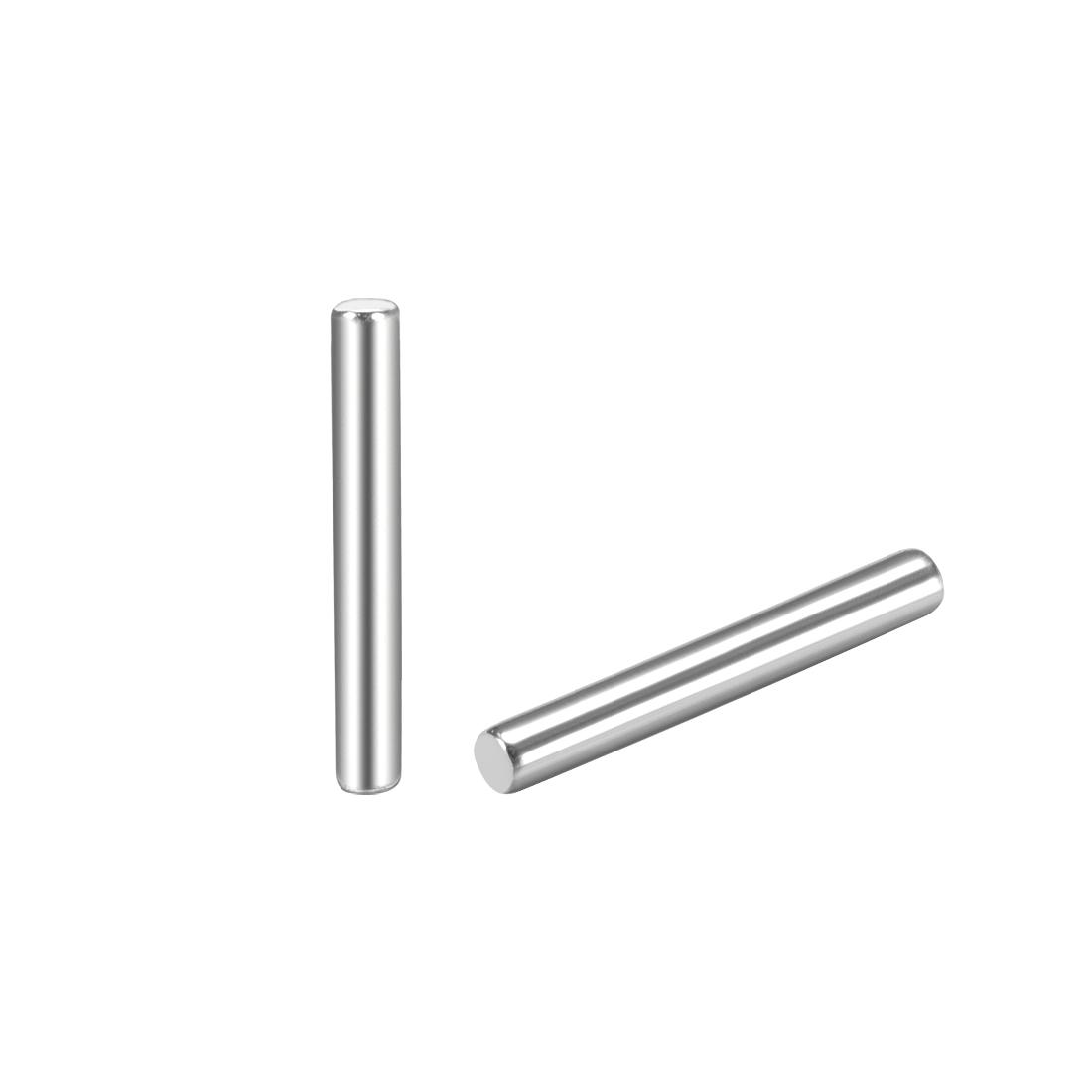 25Pcs 1.5mm x 12mm Dowel Pin 304 Stainless Steel Shelf Support Pin Fasten