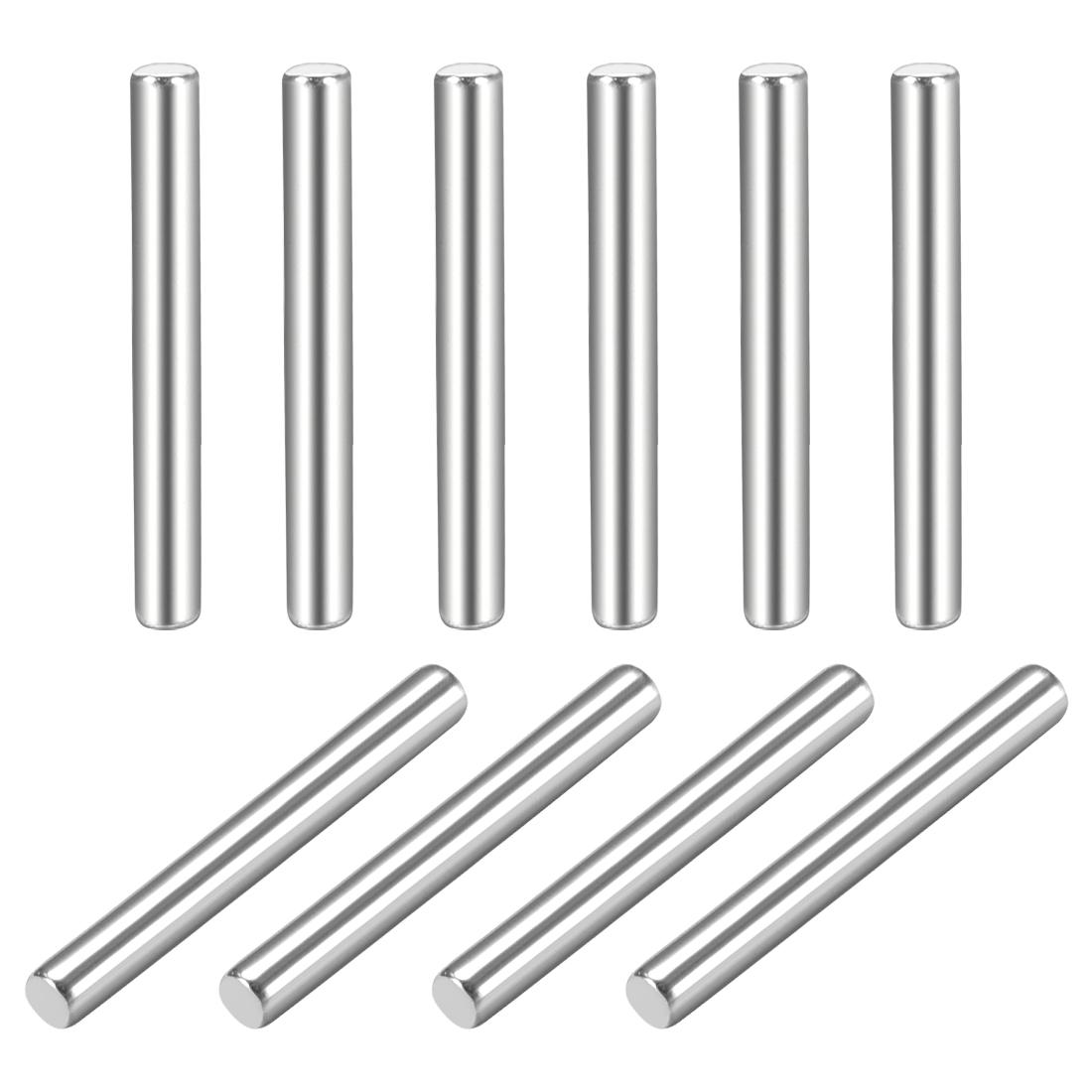 10Pcs 1.5mm x 16mm Dowel Pin 304 Stainless Steel Shelf Support Pin Fasten