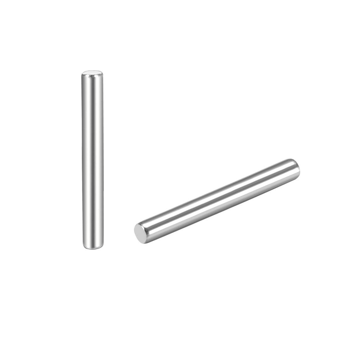 25Pcs 1.5mm x 16mm Dowel Pin 304 Stainless Steel Shelf Support Pin Fasten