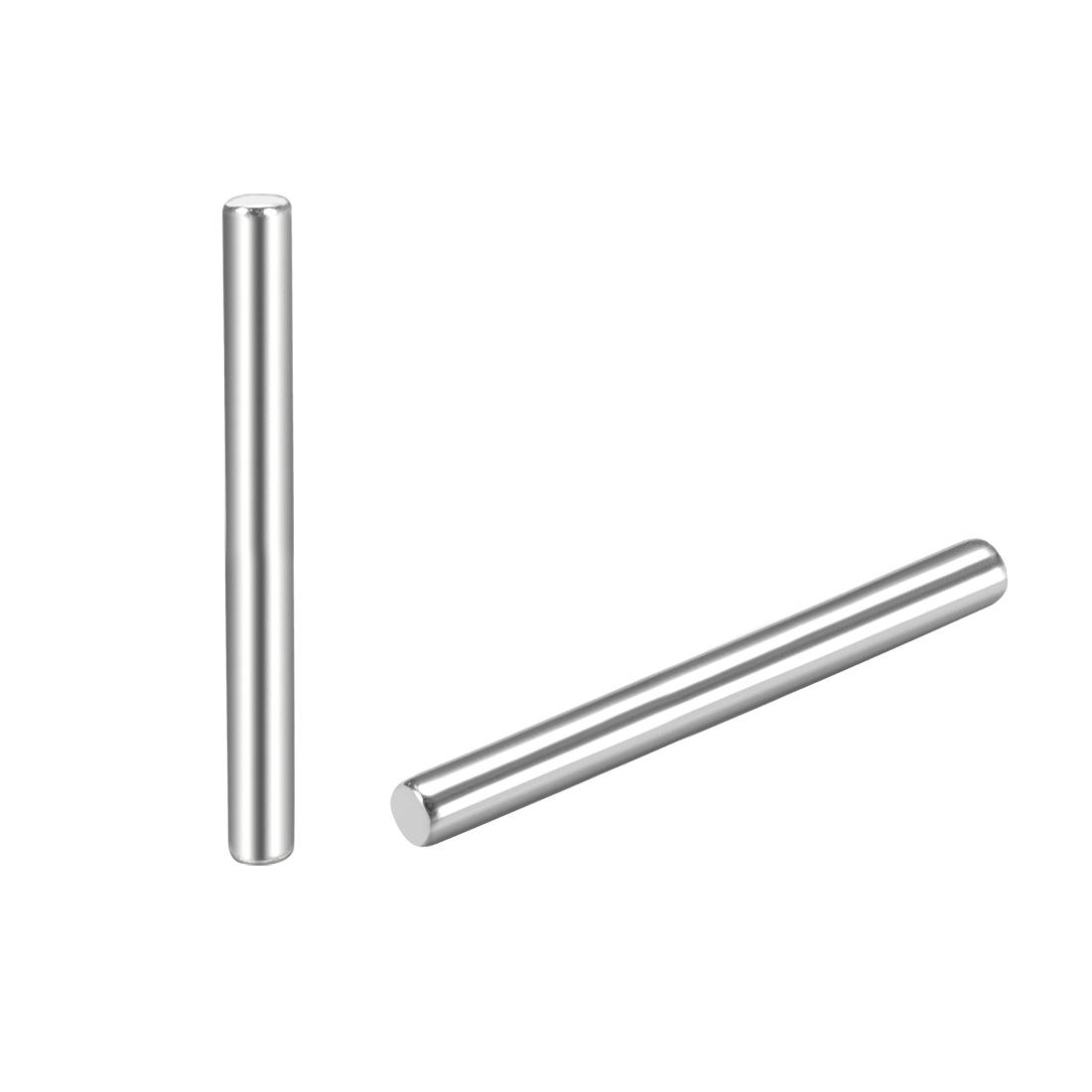 25Pcs 1.5mm x 20mm Dowel Pin 304 Stainless Steel Shelf Support Pin Fasten