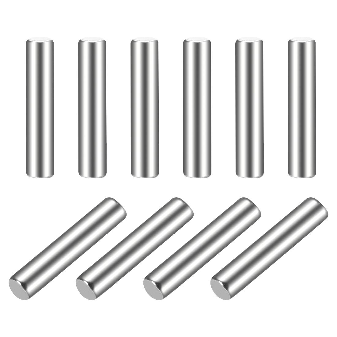 10Pcs 2mm x 10mm Dowel Pin 304 Stainless Steel Shelf Support Pin Fasten