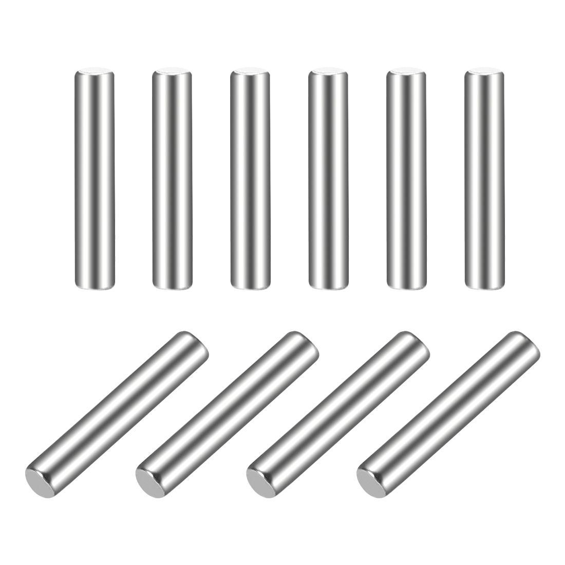 10Pcs 2mm x 12mm Dowel Pin 304 Stainless Steel Shelf Support Pin Fasten
