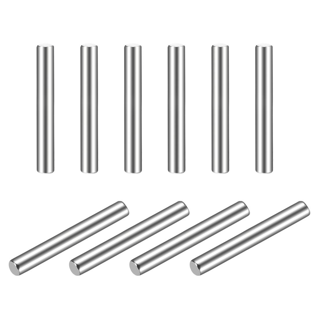 10Pcs 2mm x 16mm Dowel Pin 304 Stainless Steel Shelf Support Pin Fasten