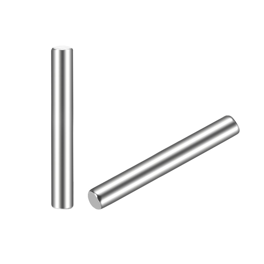 25Pcs 2mm x 16mm Dowel Pin 304 Stainless Steel Shelf Support Pin Fasten