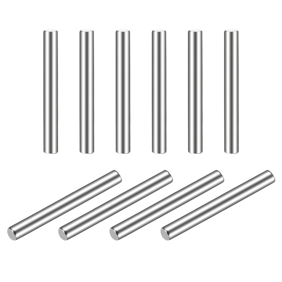 10Pcs 2mm x 18mm Dowel Pin 304 Stainless Steel Shelf Support Pin Fasten