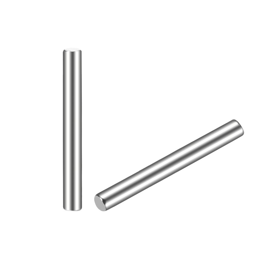 20Pcs 2mm x 18mm Dowel Pin 304 Stainless Steel Shelf Support Pin Fasten