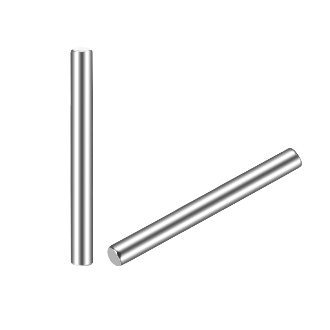 15Pcs 2mm x 20mm Dowel Pin 304 Stainless Steel Shelf Support Pin Fasten