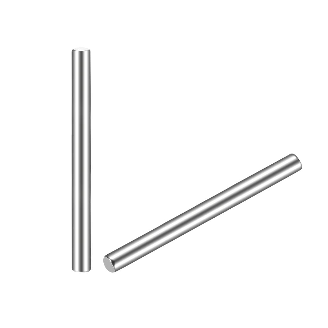 20Pcs 2mm x 25mm Dowel Pin 304 Stainless Steel Shelf Support Pin Fasten