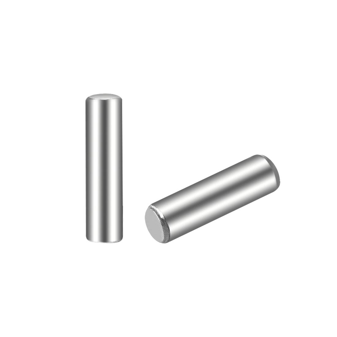 100Pcs 2.5mm x 10mm Dowel Pin 304 Stainless Steel Shelf Support Pin Fasten