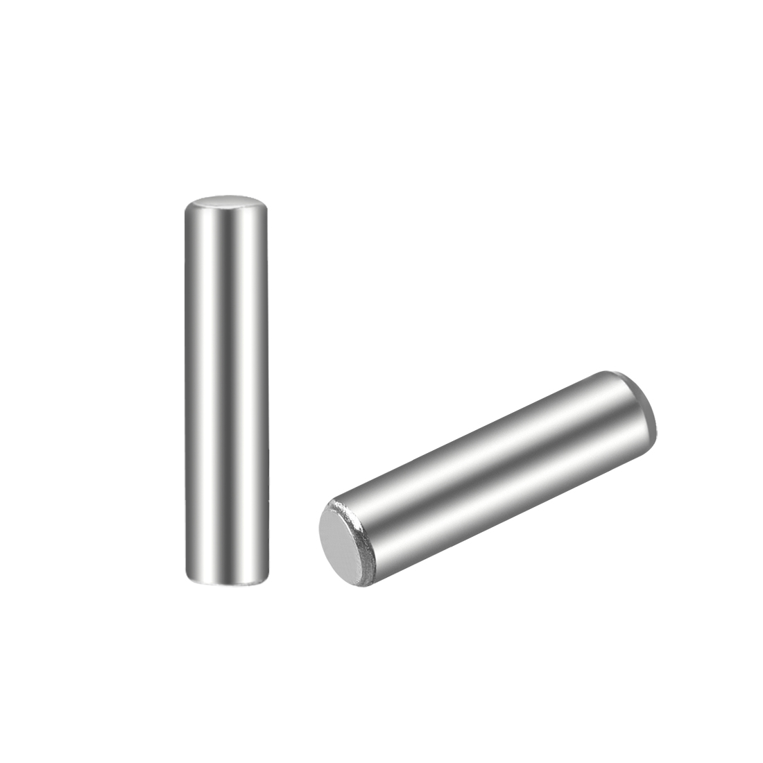 50Pcs 2.5mm x 12mm Dowel Pin 304 Stainless Steel Shelf Support Pin Fasten