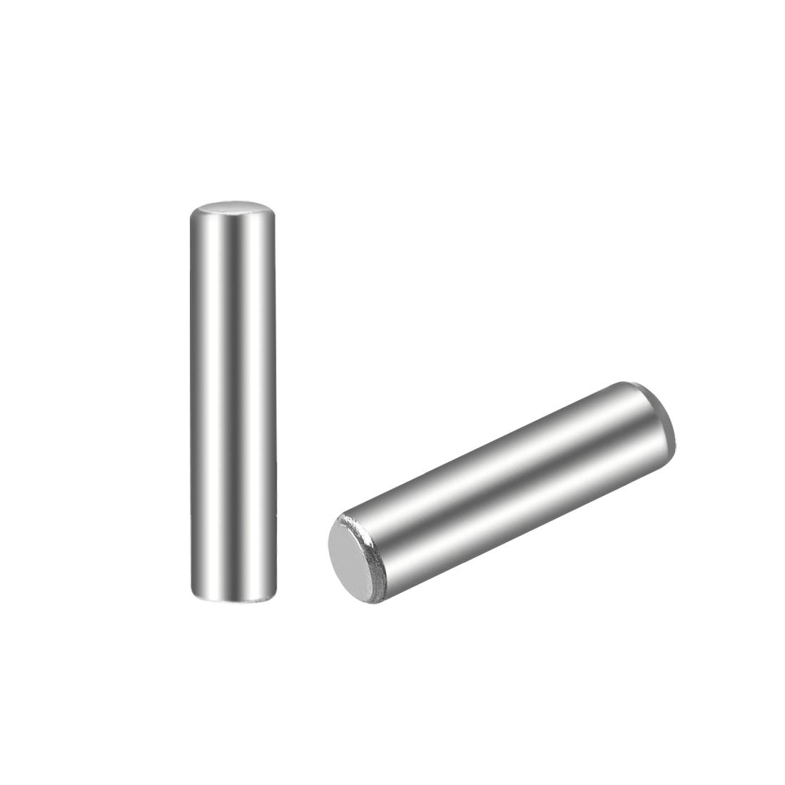 100Pcs 2.5mm x 12mm Dowel Pin 304 Stainless Steel Shelf Support Pin Fasten